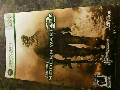 Call Of Duty Modern Warfare 2 - Xbox 360 - Instruction Manual Only