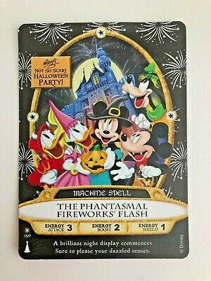 WDW Disney Sorcerers of the Magic Kingdom Halloween 2019 MNSSHP 15/P Fireworks
