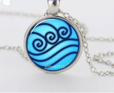 NEW Avatar the Last Airbender, Legend of Korra Water Tribe Glass Necklace,,