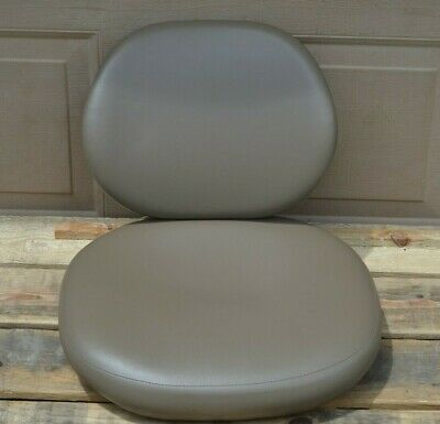 A-Dec Dental Doctors Stool Chair Upholstery Ultra Leather Sable Peryd 048.393.00