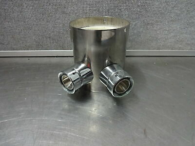 Draft Beer 2 Product Stainless Steel Tower Adapter