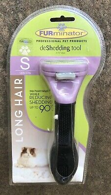 Cat deShedding Tool for Cats with Long Hair Size Small (S) Under 10 lbs.