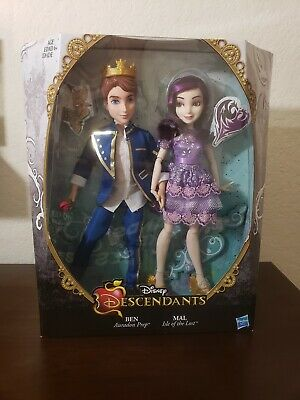 Disney Descendants Two-Pack: Mal Isle of The Lost and Ben Auradon
