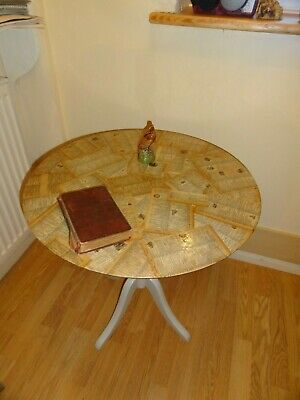 decoupage (dictionary) occasional round table