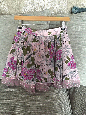 Beautiful Marks & Spencer girls floral flippy boho skirt, Aged 11 m&s