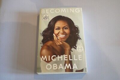 Becoming, by Michelle Obama, Paperback (large print), Random House,  2018