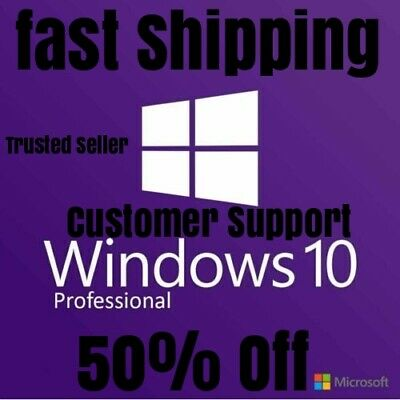 🔥INSTANT🔥 WINDOWS 10 PRO 32_64 BIT🔥WIN 10 GENUINE🔥LICENSE ORIGINAL🔥Retail🔥