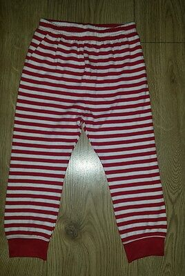 Mothercare Baby Girl red pyjama trousers size 18-24 months NEW kids