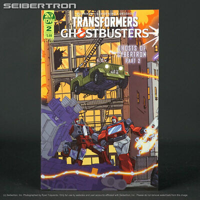 TRANSFORMERS GHOSTBUSTERS #2 Cover A IDW Comics 2019 Ghost of Cybertron 2A
