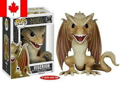 Funko Pop! Game of Thrones - Viserion ~ FAST & FREE SHIPPING
