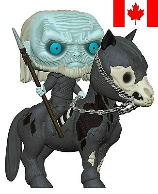 Funko Pop! Game of Thrones - White Walker On Horse ~ FAST & FREE SHIPPING