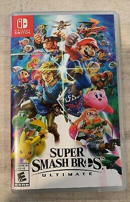 Super Smash Bros Ultimate Switch Game, Played 3 Times