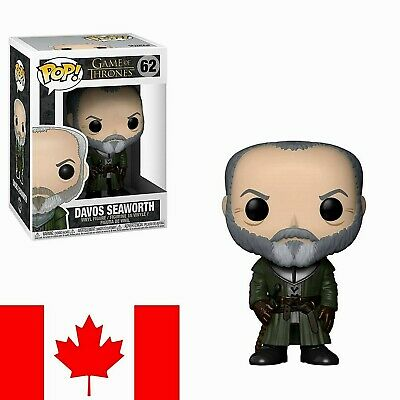 Funko POP! Game of Thrones - Davos Seaworth ~ FAST & FREE SHIPPING