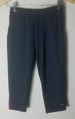C9 By Champion Women Black Pink Athletic Cropped Leggings Size XS