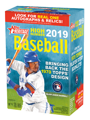 2019 Topps Heritage High Numbers singles