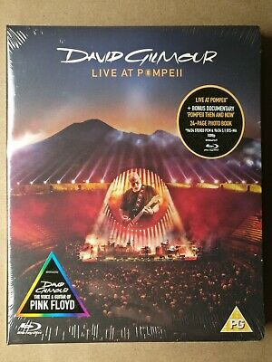Live at Pompeii [Video] by David Gilmour (Blu-ray Disc) 96/24 5.1 DTS-MA