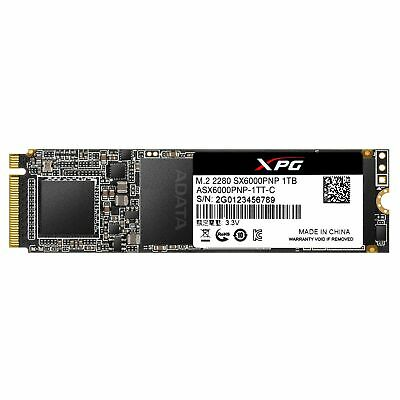 XPG SX6000 Pro 1TB PCIe 3D NAND PCIe Gen3x4 M.2 2280 NVMe 1.3 R/W up to 2... New