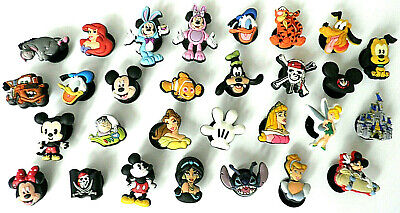 DISNEY JIBBITZ 1x (YOU PICK FROM MANY DESIGNS) CHARACTER THEME CROC SHOE CHARM