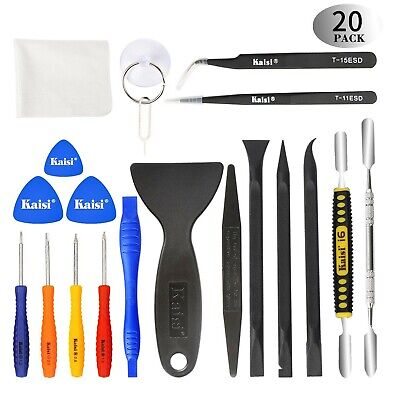 Kaisi Professional Electronics Opening Pry Tool Repair Kit with Metal Spu... New
