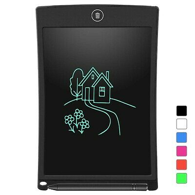 LCD Writing Tablet, Electronic Writing Drawing Doodle Board Erasable, Auk... New