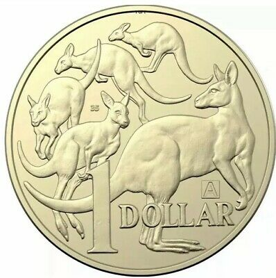 2019 Australian $1 One Dollar Coin Set Of 3 - A U S Privy 35 Australia Discovery