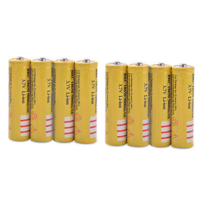 8x 18650 Li-ion 5003mAh Replacement Charge Battery for Remote Controller BC973