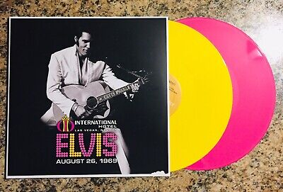 Elvis Presley Live At The International Hotel, Las Vegas NV August 26, 1969 LP