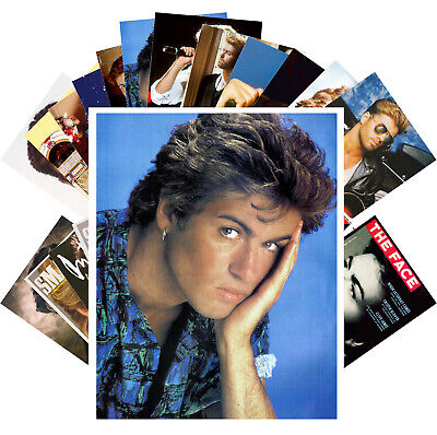 GEORGE MICHAEL Postcards (24 cards) Vintage Music Photo Poster Cover 1288