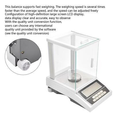 Electronic Analytical Balance 220g Weighing Scale Support Data Transmission