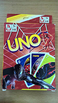 Spiderman UNO Playing Cards Game for Travel Family Friends AU