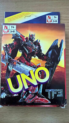 Transformers UNO Playing Cards Game for Travel Family Friends AU