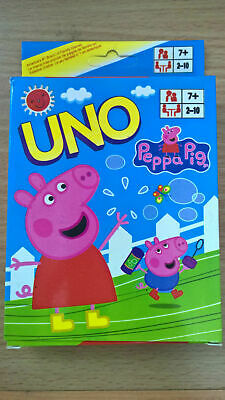 Peppa Pig UNO Playing Cards Game for Travel Family Friends AU
