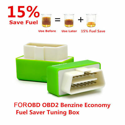 Green Eco OBD2 Economy Fuel Saver Tuning Box Chip For Car Gas Saving Factory