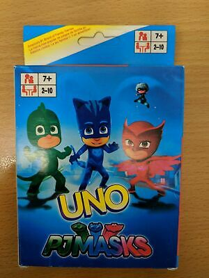 PJ masks UNO Playing Cards Game for Travel Family Friends AU