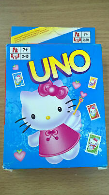 Hello Kitty UNO Playing Cards Game for Travel Family Friends AU