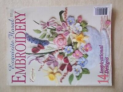 Exquisite Floral Embroidery~14 Patterns~82pp