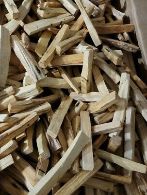 "Palo Santo 4 pound fresh thin stick (Bursera Graveolens) Original aroma 4"" high"