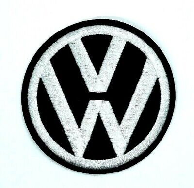 large Volkswagen Logo/ Emblem Embroidered Iron On Patches 1731
