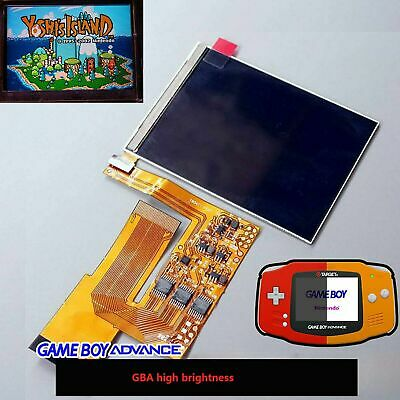 For Game Boy Advance GBA 10 Levels Brightness IPS Backlight LCD Accessories Kits