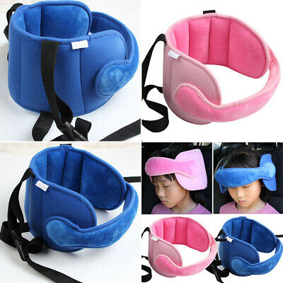 Child Baby Head Support Stroller Buggy Pram Car Seat Belt Sleep Safety Strap UK