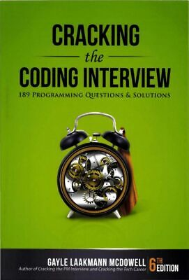 Cracking the Coding Interview, 6th Edition E-B00K [PDF]