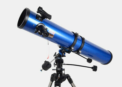 114eq HD Zoom Monocul Refractive Astronomical Telescope Observe Star #