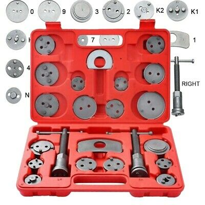 22pcs Heavy Duty Disc Brake Caliper Tool Set and Wind Back Kit for Brake Pad New