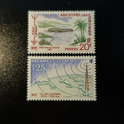 France Colonie Comores N°17/18 Neuf ** Luxe Mnh