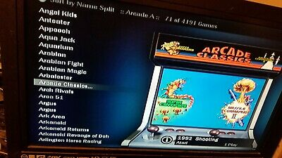 MODDED XBOX WITH CoinOps 8 over 30 additional emulators and