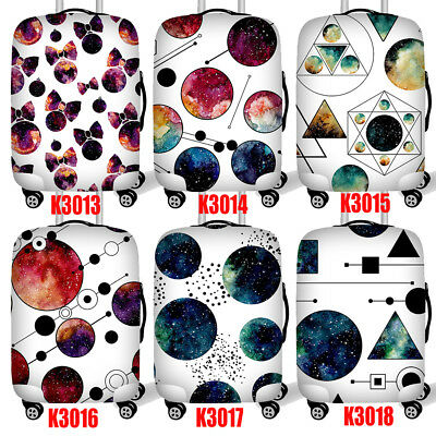 """Galaxy Elastic Travel Dustproof Suitcase Luggage Cover Protect for 18"""" ~ 28"""""""