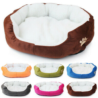 Small Medium Pet Dog Cat Bed Puppy Cushion Pet Soft Warm Kennel Dog Mat Blanket
