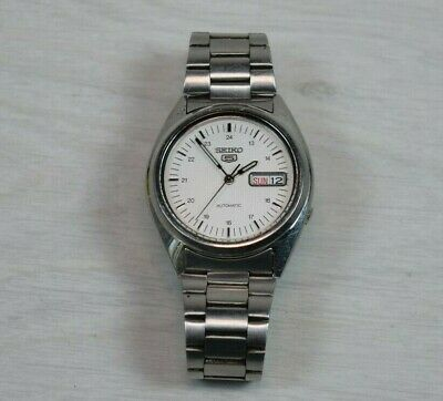 Vintage Made in Japan SEIKO 5 Automatic Watch with Day & Date watch No.7S26-0480