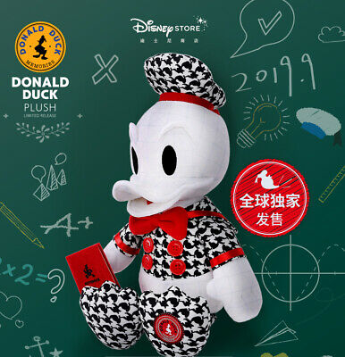 Donald Duck memories september month Plush toy 85th year shanghai disney store