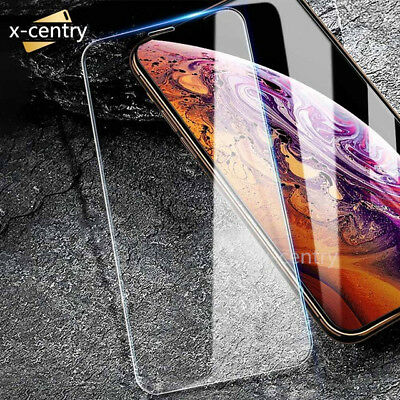 2 X Tempered Glass Screen Protector For iPhoneX XR XS MAX 8 7 6 Plus 6S